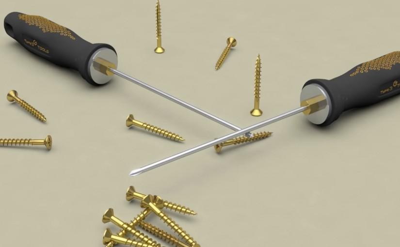 3SHAPER V2 Organic Modeling: Consumer goods project (screwdriver design)