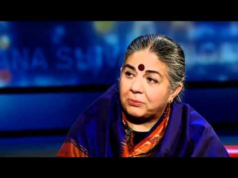 Vandana Shiva on the Hidden Costs of Cheap Consumer Goods