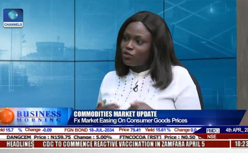 Business Morning: FX Market Easing On Consumer Goods Price