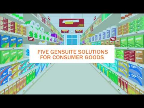 Five Software Solutions for Consumer Goods