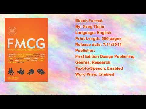 Fmcg: The Power of Fastmoving Consumer Goods Book by Greg Thain